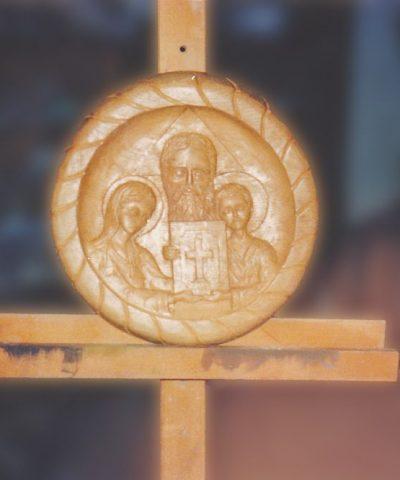 The Holy Trinity, wood 0,35-0,045m