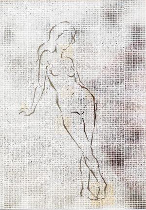 Nud, ink on paper, 30-42cm