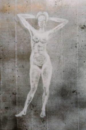 The Dream, acrylic on paper, 30-42cm